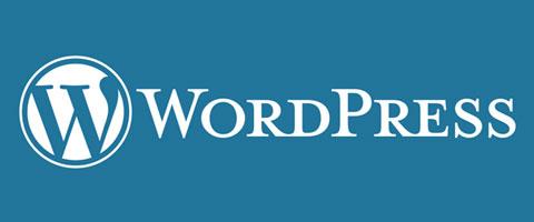 wordpress logo blauw