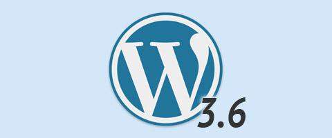 WordPress 3.6 komt er aan!