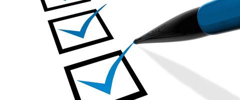 Checklist voor een nieuwe website