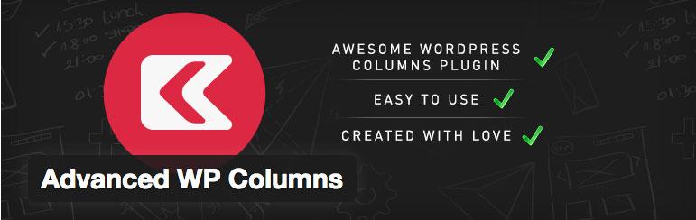 wordpress plugin advanced wp columns