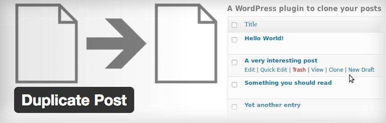 wordpress plugin duplicate posts