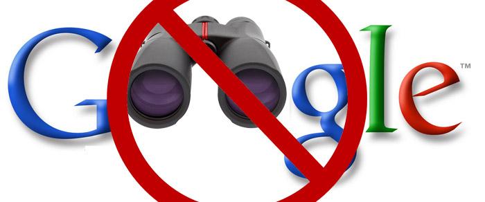 niet gevonden worden in Google