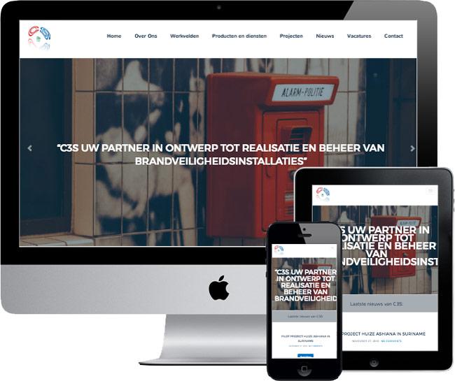 wordpress website c3s.nl