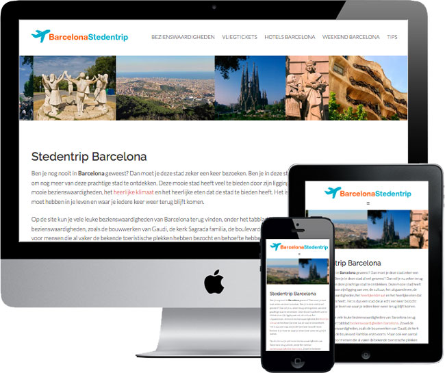 wordpress website barcelonastedentrip.com