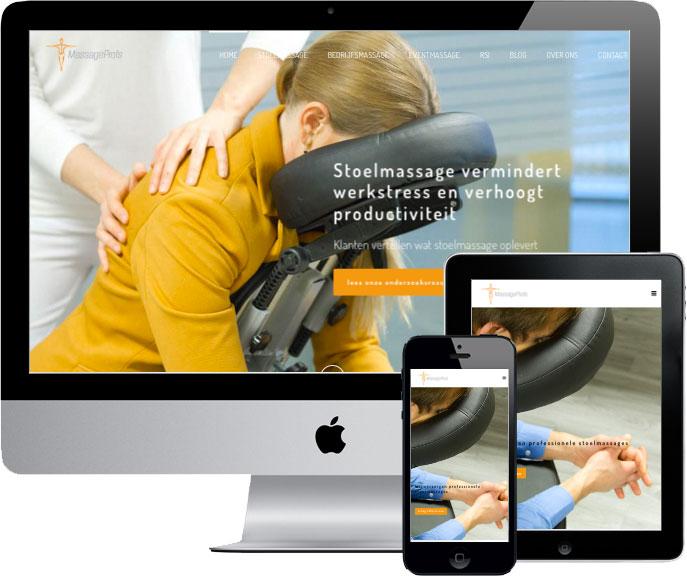 wordpress website massageprofs