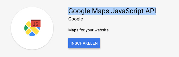 google api javascript api