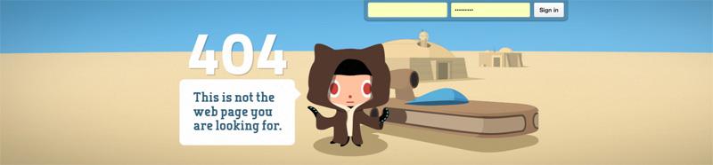 404 pagina github