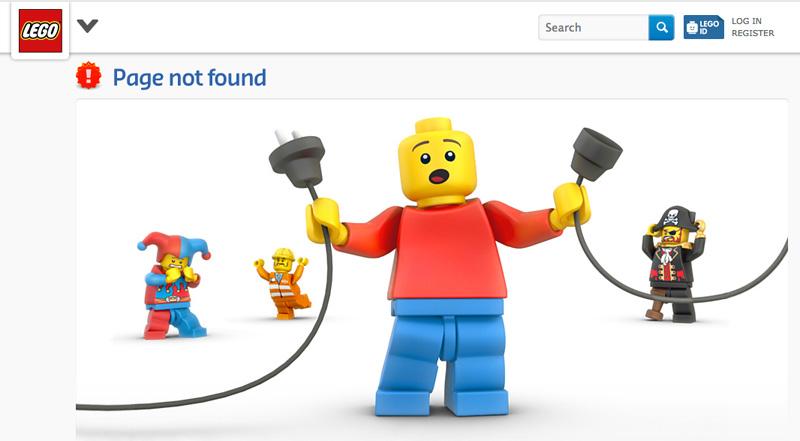 404 pagina lego