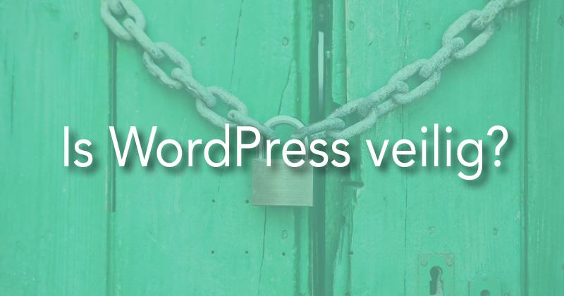 Is WordPress veilig?