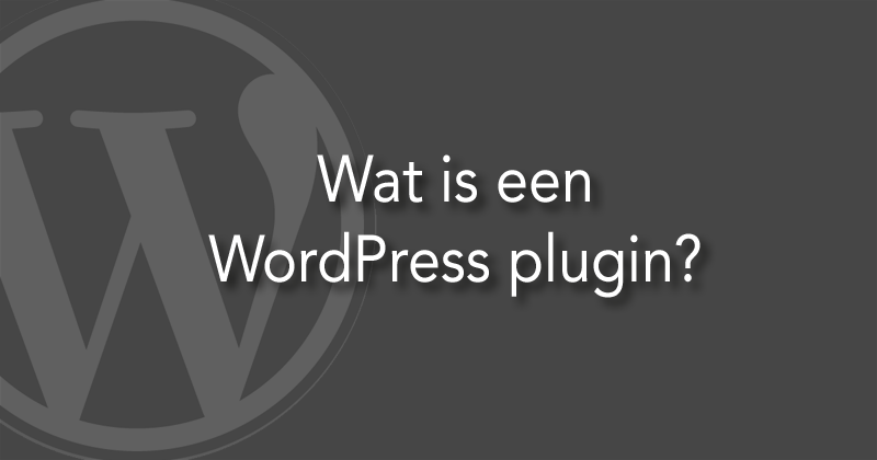 Wat is een WordPress plugin?