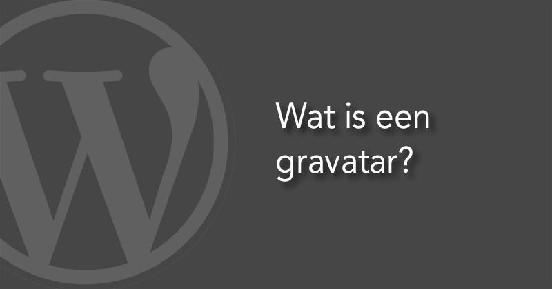 Wat is een gravatar?