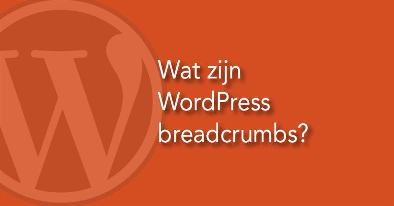 Wat zijn WordPress breadcrumbs?